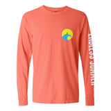 Endless Summer Long sleeve (Neon Red Orange)