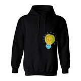 Painted Light Bulb Hoodie