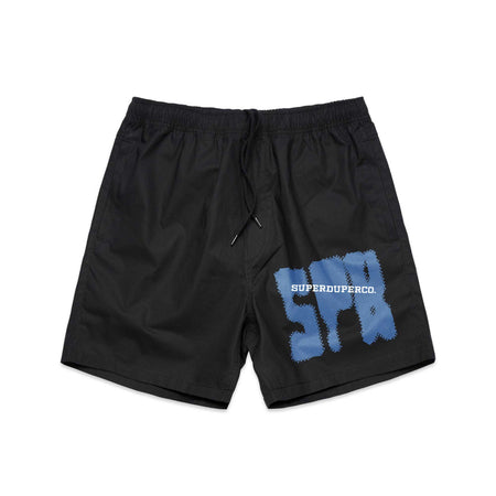 SUPER Black Beach Shorts