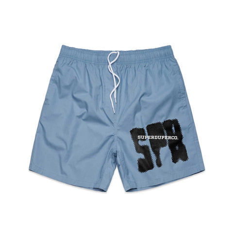 SUPER Blue Beach Shorts