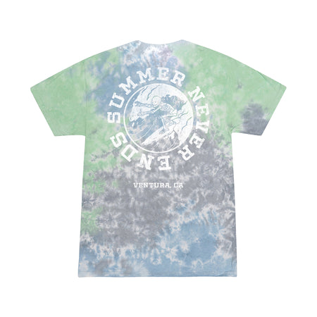 Summer Never Ends - Dark Tie Dye Tee