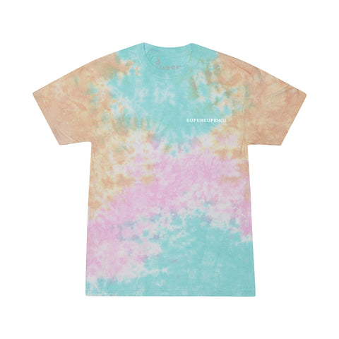 Summer Never Ends - Bright Tie Dye Tee