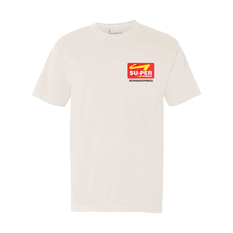 Super Burger Tee - White