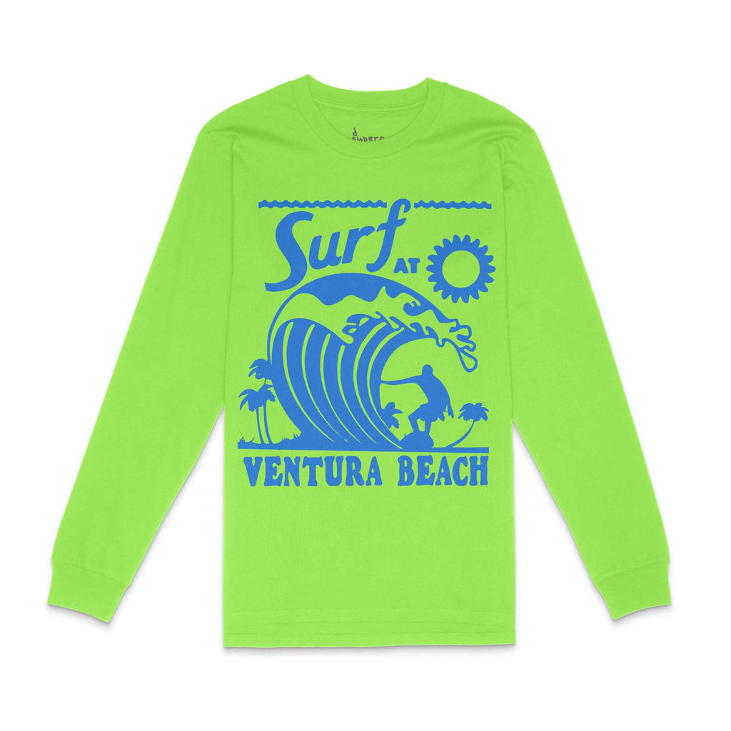 Ventura Surf Green Long Sleeve Shirt