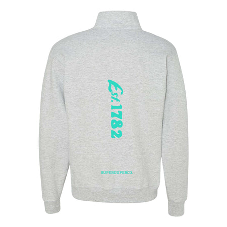 Ventura Surf Grey Quarter-Zip Sweatshirt