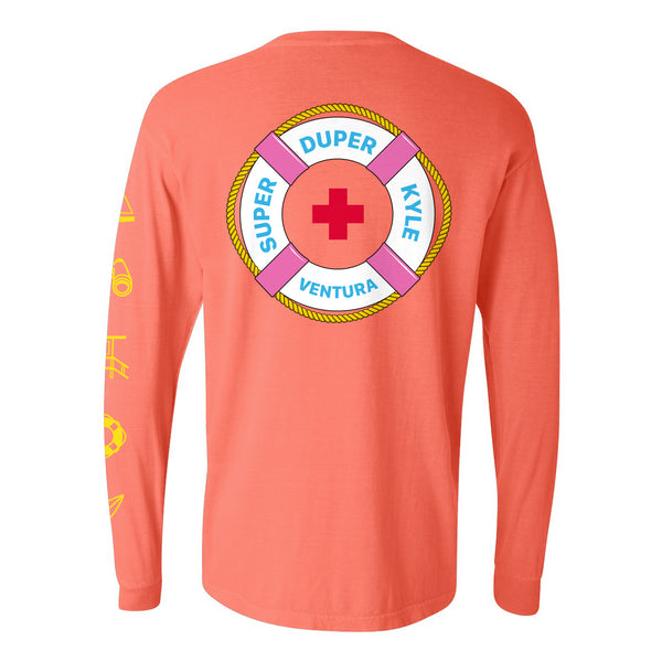 LIFEGUARD LONG SLEEVE (ORANGE)