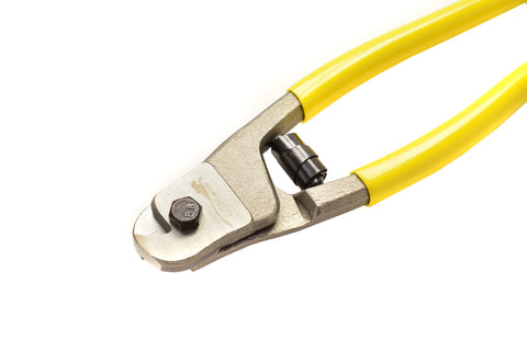 jump rope speed cable cutters metallic and yellow