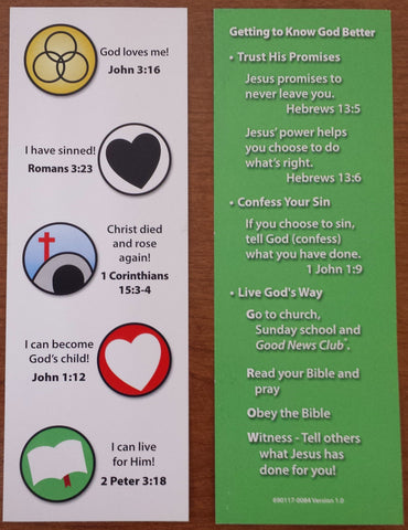 Gospel Bookmark