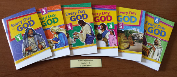 Every day with God (Books 1-6)