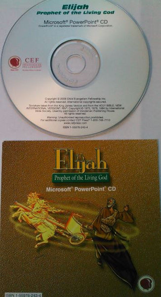 Elijah: Prophet of the Living God Power Point