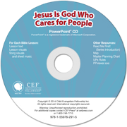 Jesus is God who cares for people Power Point
