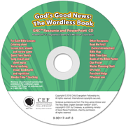 God's Good News: The Wordless Book PP CD