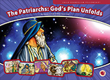 "Full-color flashcard visuals to teach six lessons in the Patriarchs: God's Plan Unfold series. 13"" x 9 5/8"" (33 x 24.4 cm) 5-6 visuals per lesson"