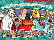 "Full-color flashcard visuals to teach six lessons on the life of Joseph 13"" x 9 5/8"" (33 x 24.4 cm)         5-6 visuals per lesson"