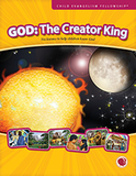 Lesson text for six lessons for the God: the Creator King series. Everything the teacher needs to teach 6-11 year olds. Lesson outlines, detailed story line, review questions, memory verse teaching and more.