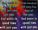 God Wants to Spend time with Just You