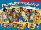 Jesus is God who cares for people