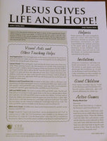 Jesus Gives Life and Hope