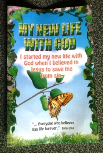 My New Life with Christ