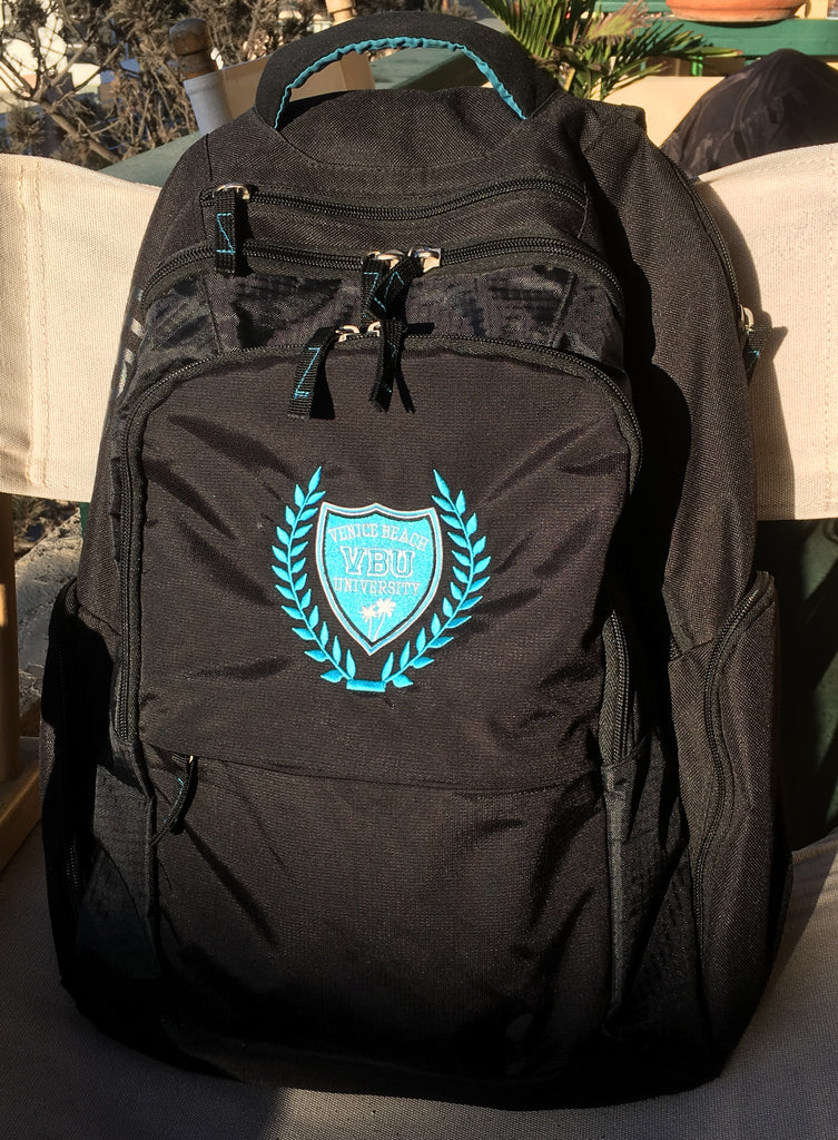 6a72fcf9ab1f Backpack Embroidered with College Crest – Venice Beach University