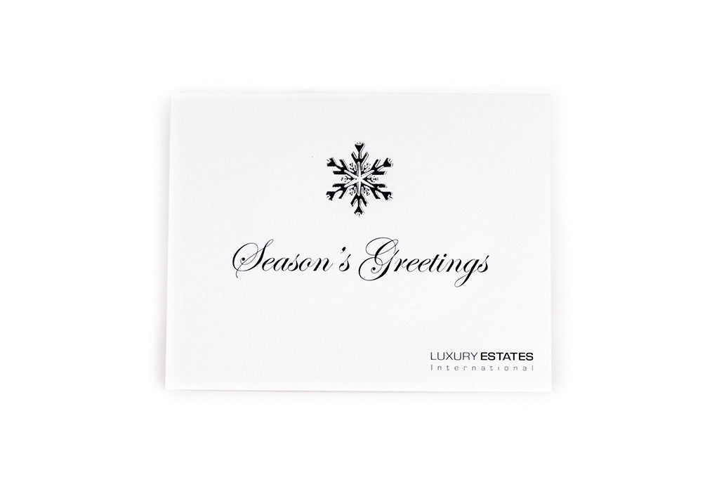 Holiday Card & Envelope (Set of 10)