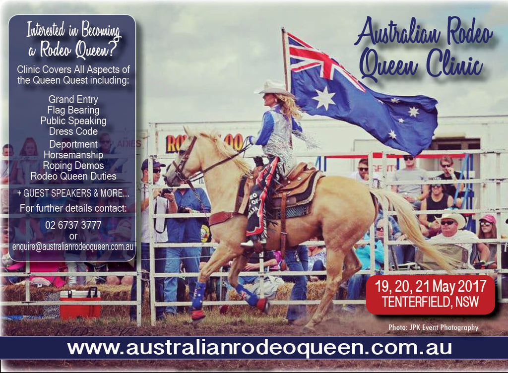 2017 Australian Rodeo Queen Clinic