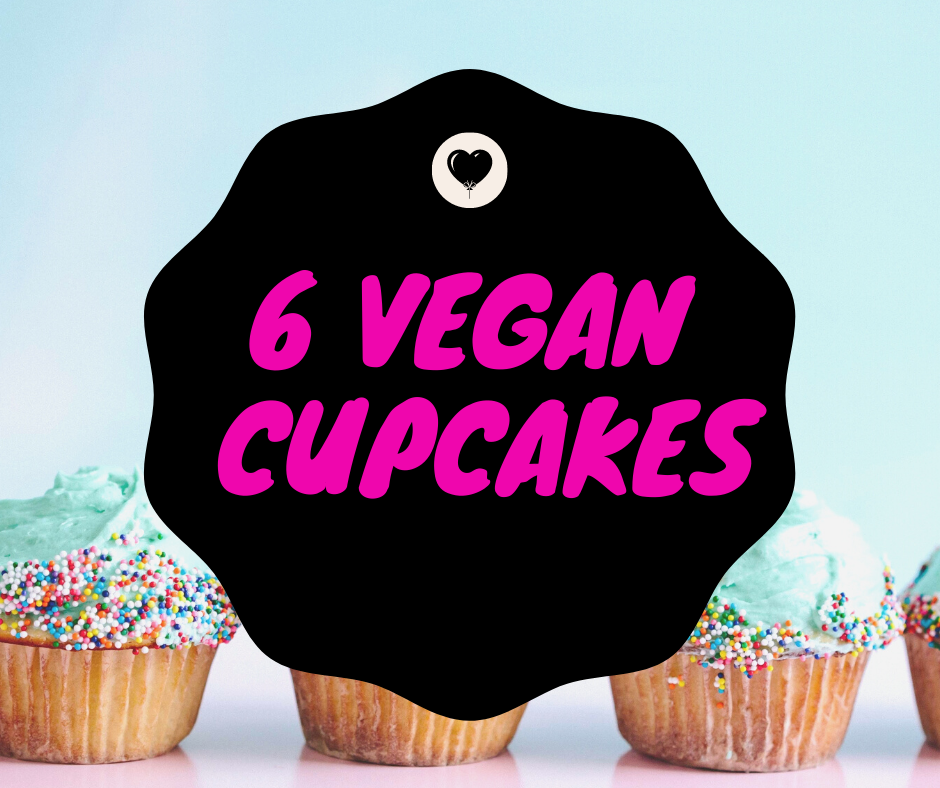 Ship-To-ME VEGAN 6 PACK CUPCAKES