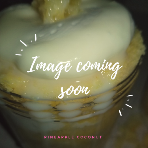 Pineapple Coconut CakeCup