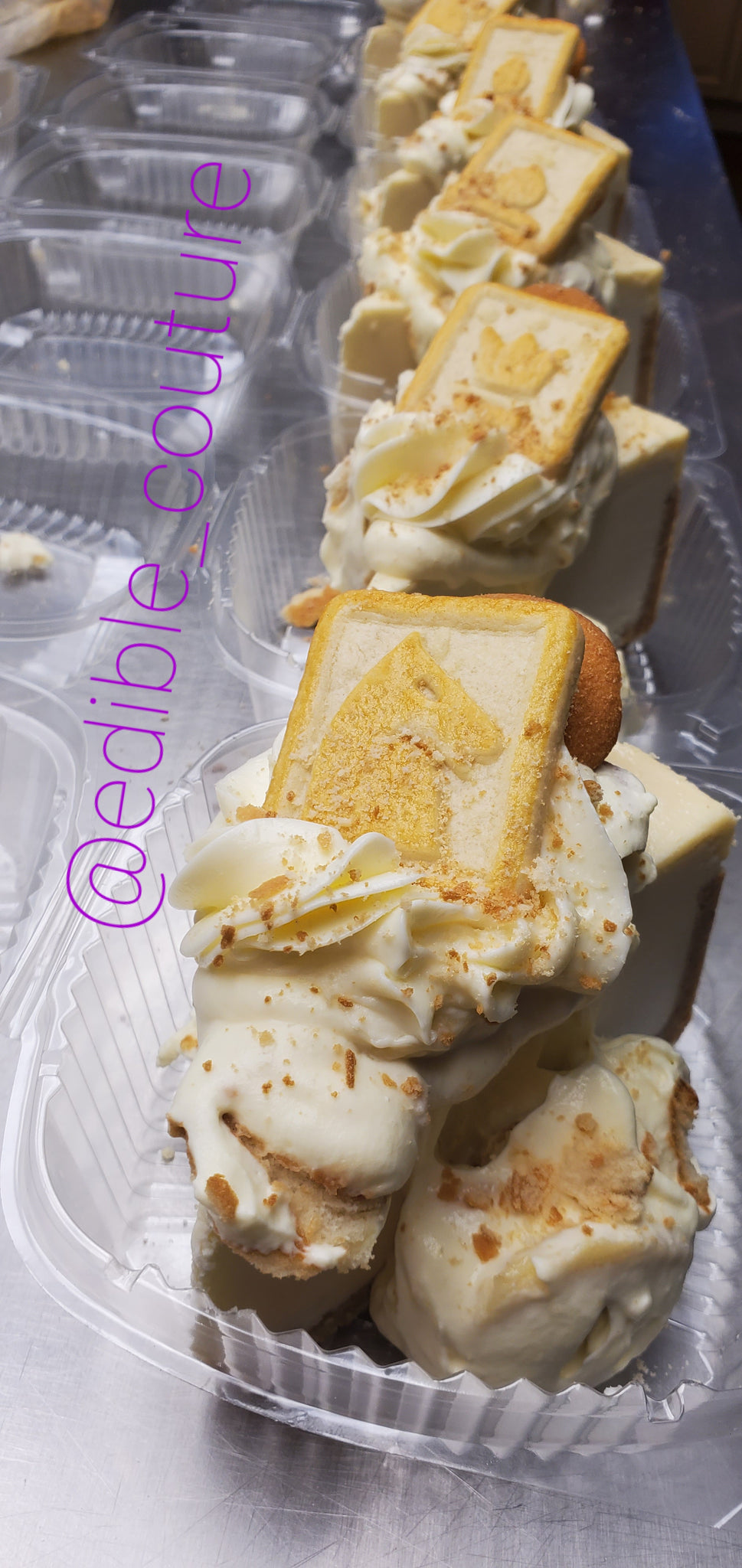 Banana Pudding Cheesecake Slice( PREORDER ONLY)