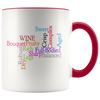 Describing Wine Word Art Coffee Mug