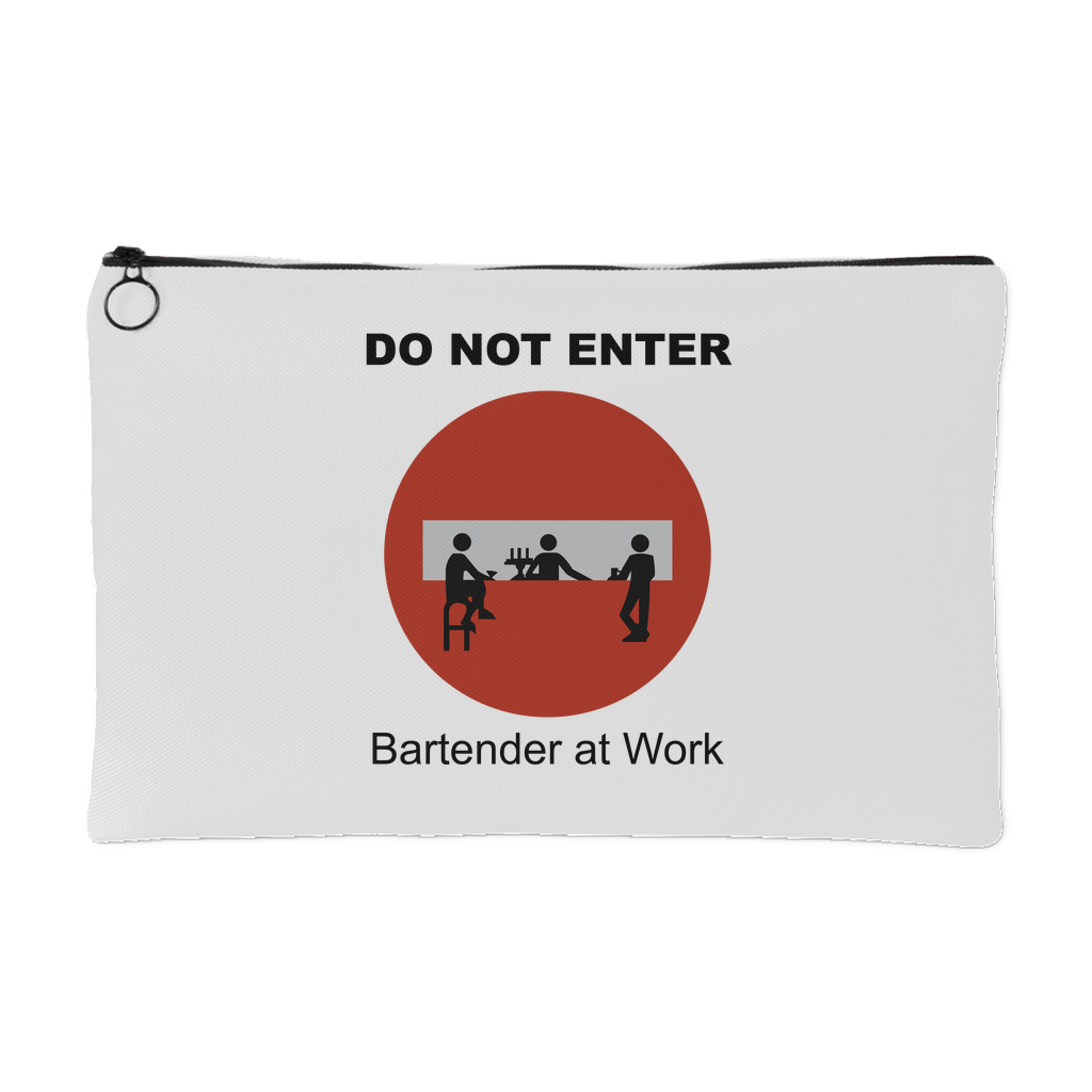 Do Not Enter Accessory Pouch