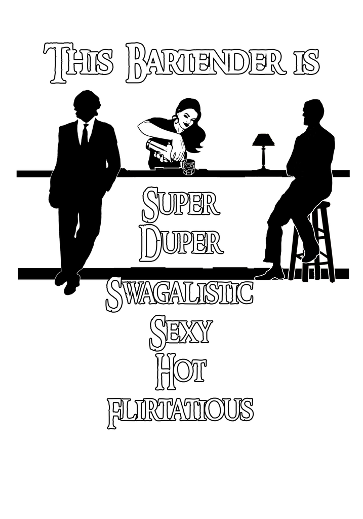 Super Duper Swagalistic Ladies Vneck