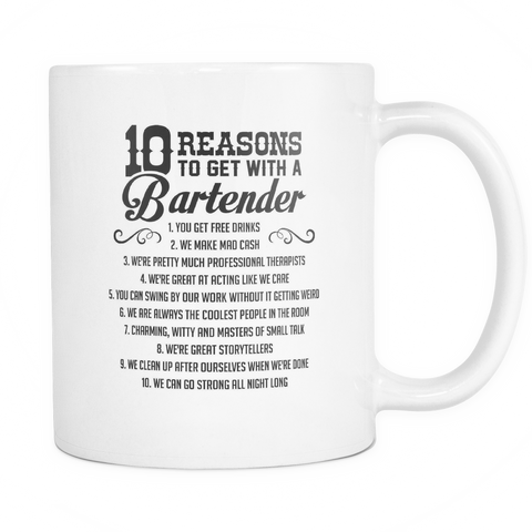 10 Reasons White Coffee Mug
