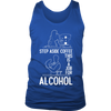 Step Aside Coffee Mens Tank Top