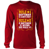 Bartender Is Always Right Long Sleeve Shirt