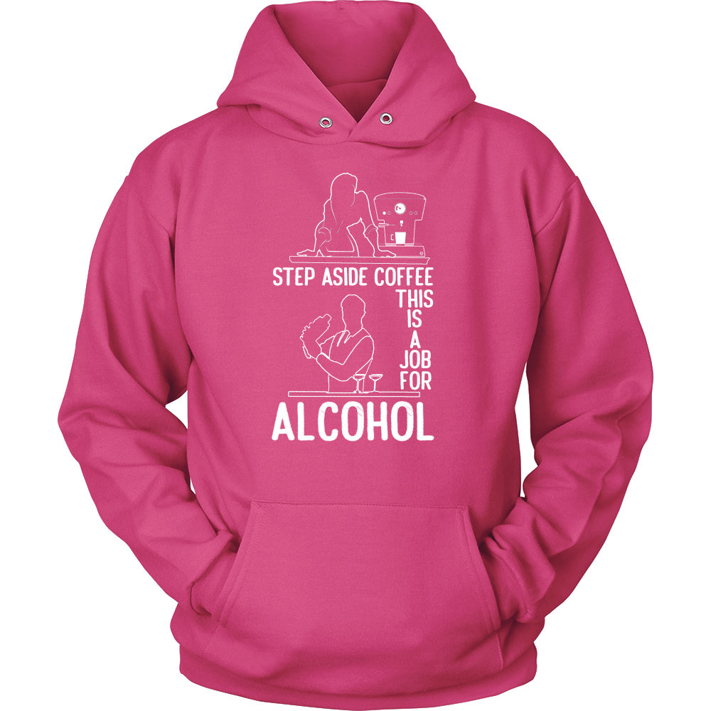 Step Aside Coffee 2 Hoodie
