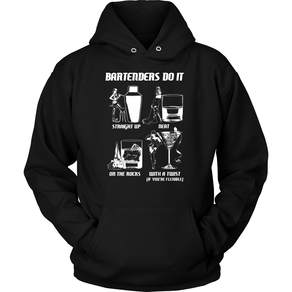 Bartenders Do It Like This Hoodie