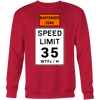 Bartender Zone Speed Limit Sweatshirt