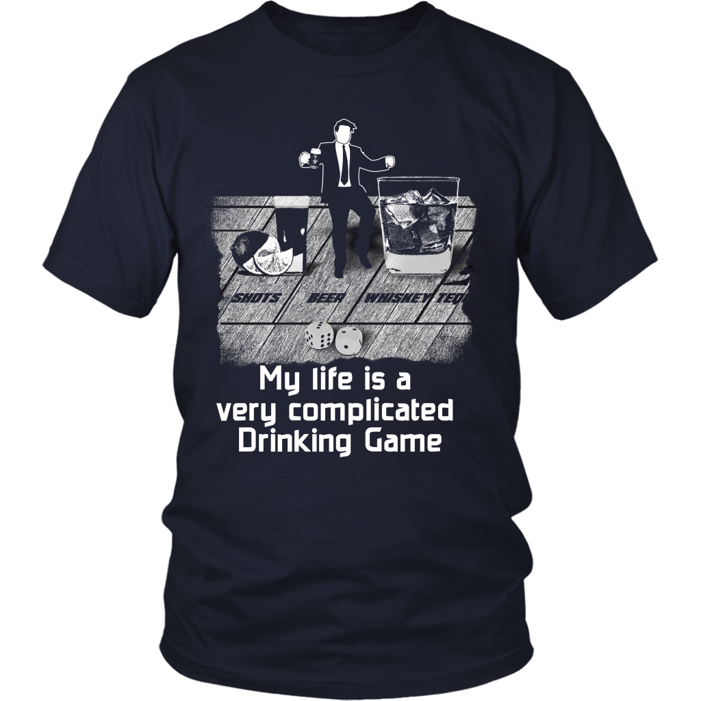 Complicated Drinking Game Tshirt