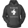Not Tonight Ladies Hoodie