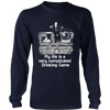Complicated Drinking Game Long Sleeve Shirt