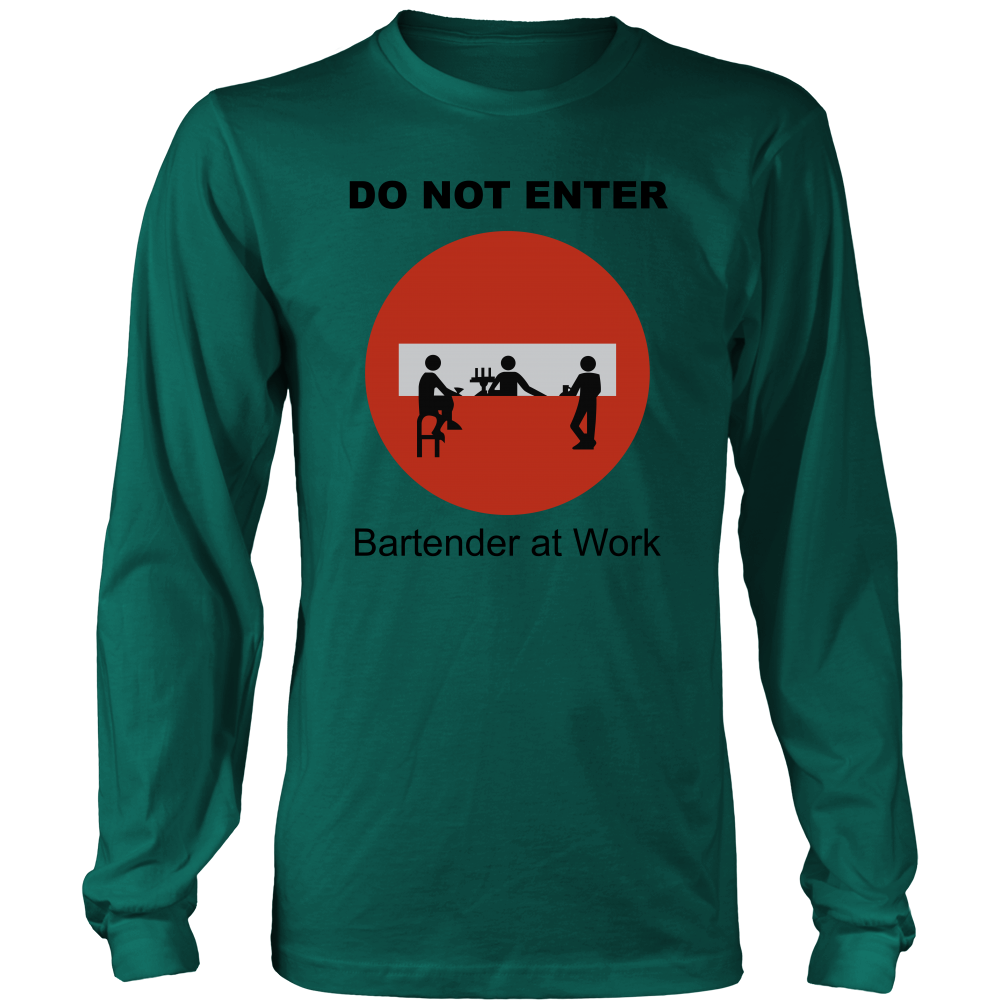 Do Not Enter Long Sleeve Shirt