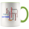 Ways to Say Bartender Word Art Coffee Mug