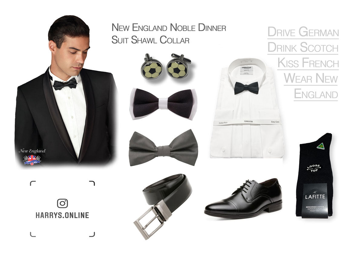 New England Noble Dinner Suit @ Harry's for Menswear