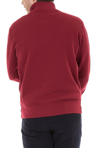 Blazer Red Curtis  1/2 Zip French Rib - Harry's for Menswear
