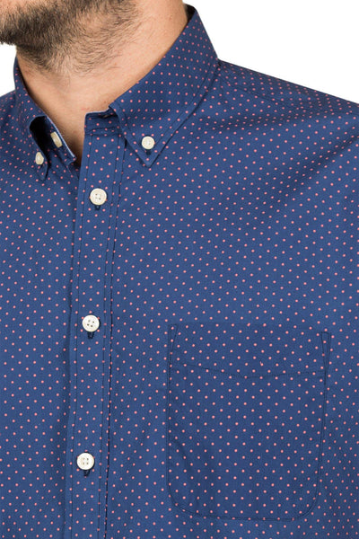 Blazer Henry S/S Navy S/S Shirt - Harry's for Menswear