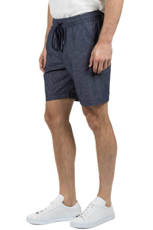 Blazer Manly Textured  Beach Short Navy