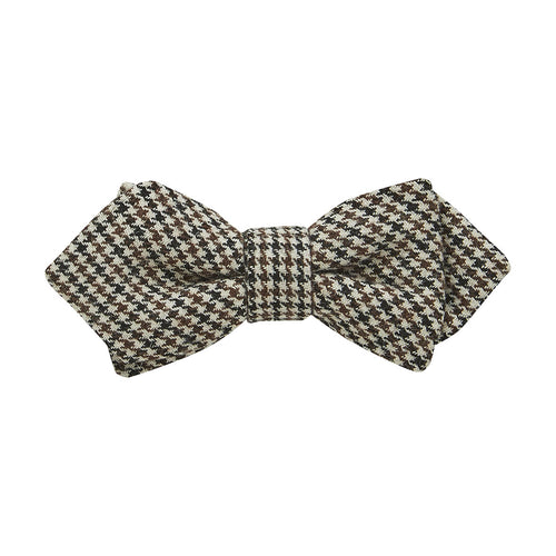 Buckle Bow Tie-Tie-Houndtooth - Harry's for Menswear