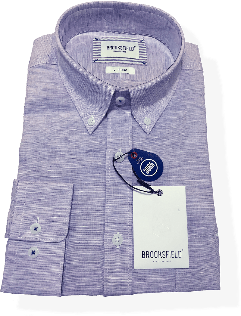 Brooksfield Career  BFC021 Purple - Harry's for Menswear