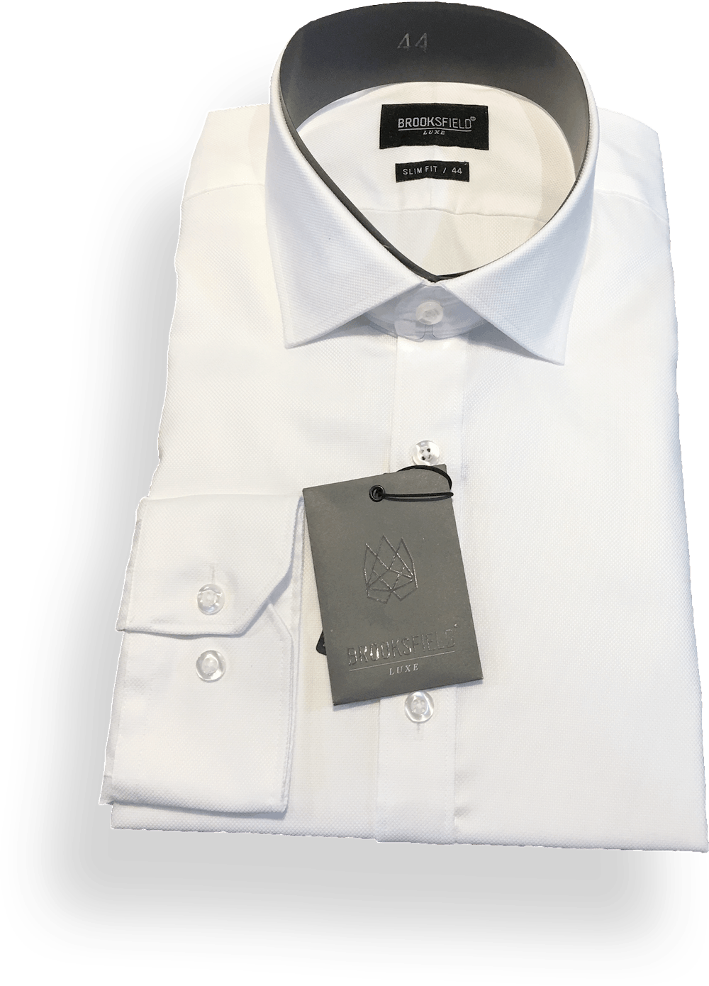 Brooksfield Luxe Business Shirt BFC882-Cream - Harry's for Menswear